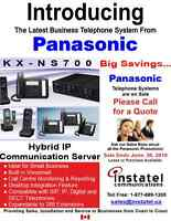 PANASONIC RELEASES NEW BUSINESS PHONE SYSTEM