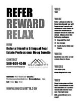 Rewards for you for Real Estate Referrals