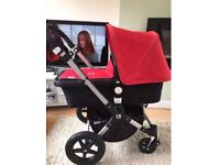 Immaculate bugaboo Cameleon 3 (3 colour covers to choose) unisex red
