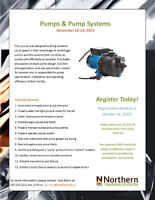 Pumps & Pump Systems - N.College