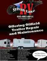 Oilfield Trailer Service and Refurbishes!
