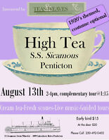 1920's High Tea at the SS Sicamous