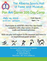 Pan Am Games 2015 Day Camp - Alberta Sports Hall of Fame