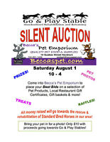 Silent Auction for Go & Play Stables