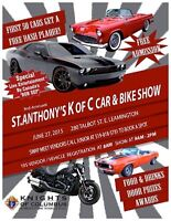 St. Athony's Car and Bike Show (swap meet)