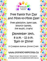 Looking for Vendors... MOM TO MOM SALE