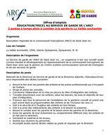 2 offres d'emploi - Éducateur(trice) à la garderie à Quispamsis