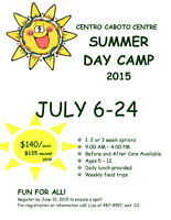 Summer Day Camp 2015!