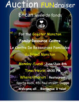 Auction Fundraiser for the Greater Moncton FAmily Resource Centr