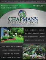 Exterior Solutions, Ponds and lawns