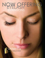 PROMOTION :EXTENSION DE CILS BUTTERFLY : 85$ taxes incluses