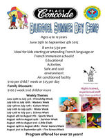Bilingual Summer Day Camp