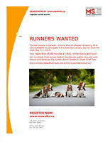 RUNNERS WANTED!