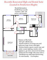Pemberton Hts sunny 2 bedroom with high end finishes