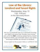 Law at the Library: Landlord & Tenant Rights