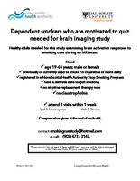 Motivated/Interested in Quitting Smoking?: Research Study