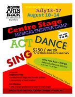 MUSICAL THEATRE SUMMER CAMP @ The Brantford Arts Block