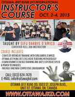 Jeet Kune Do Instructor Certification Seminar