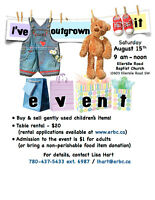 I've Outgrown It Event!