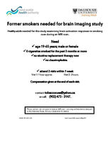 Former smokers aged 19-65: Research Study