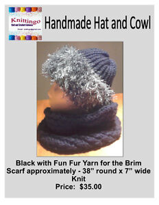 Crochet and Knit Hats and Cowls