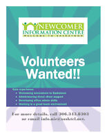 Wanted: Volunteers @ Newcomer Information Centre