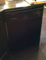 Fridgedaire black dishwasher for sale