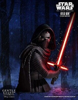 Gentle Giant Star Wars The Force Awakens Kylo Ren Bust New