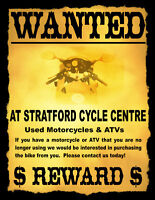 Wanted: Used Bikes