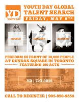 Audition for a Chance to Perform Live at Dundas Square!