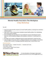 Mental Health First Aid in the Workplace- NC