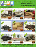 ★★Guaranteed lowest prices on SECTIONALS BUNKBEDS AND MATTRESSES