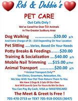 Rob & Debbie's Pet Care