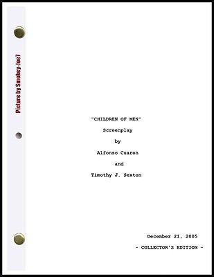 Children of Men - THE MOVIE SCRIPT / SCREENPLAY
