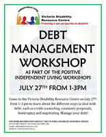 FREE Debt Management Workshop
