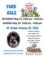 HUGE Yard Sale Saturday & Sunday