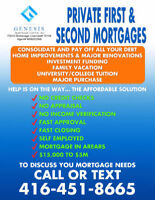 Private Lender ✪ First & Second Mortgage - No Credit/All Qualify