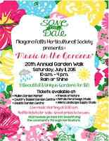 """MUSIC IN THE GARDENS-20TH ANNUAL GARDEN WALK"""