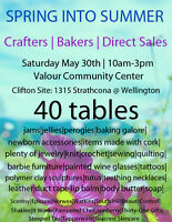 CRAFT/BAKE/DIRECT SALES May 30th 40 tables WEST END!