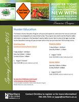 Hunter Education - N. College