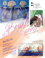 """""""A BRUSH WITH SPRING"""""""