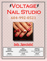 VOLTAGE Nail Studio ☀ July Specials on Now