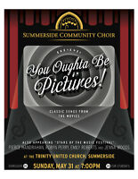 Summerside Community Choir concert - Songs of the Silver Screen