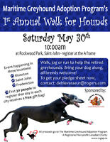 Maritime Greyhound Adoption Program WALK FOR HOUNDS