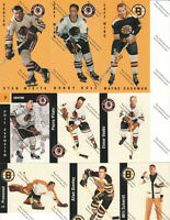 Chicago & Boston Hockey Cards