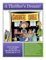 Priced to sell! FREE items! Multifamily Garage Sale!