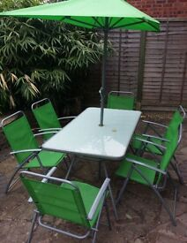 8 piece garden furniture