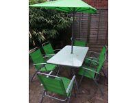 8 piece garden furniture