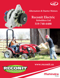 Mahindra Farm Tractor Starter & Alternators