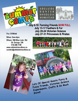 Summer Camps at Adelaide Hoodless Homestead